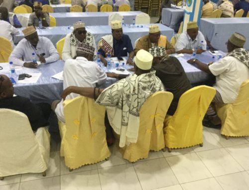 CSO and traditional Elders Consultation meeting on Somalia and Somaliland talks